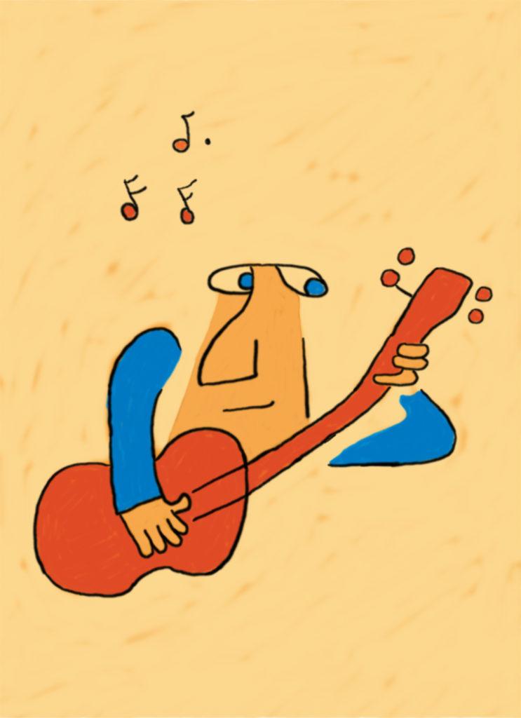 Gitarren av Åke Westin