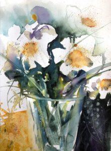 Vita blommor av @Marita Möller