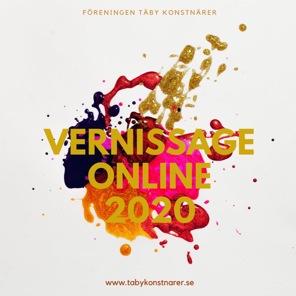 Täby konstnärer vårsalong, vernissage online 2020