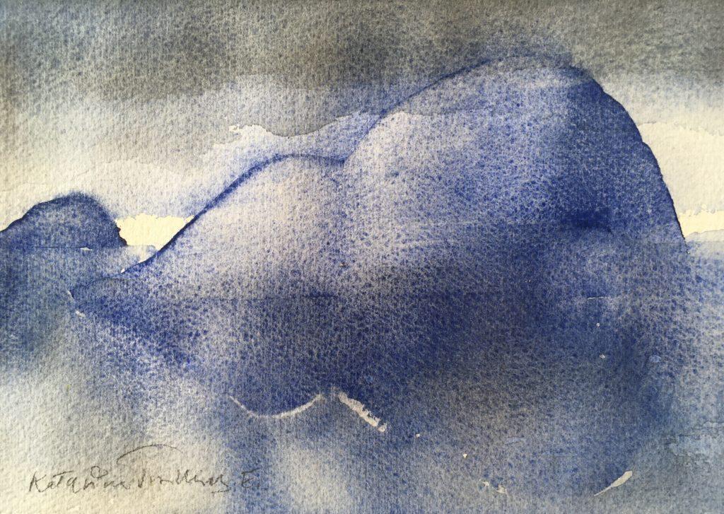 Blå klippö ©Katarina Trovallius