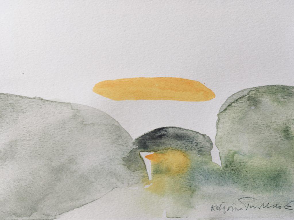 Gult moln ©Katarina Trovallius