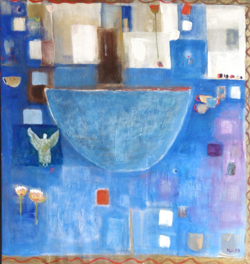 Blå kopp ©Kerstin Lundin