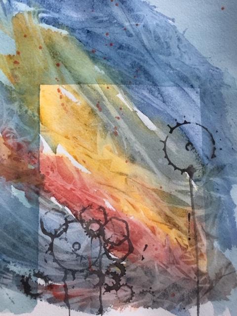 Is, glöd och motordelar 2 ©Birgit Hallerfors
