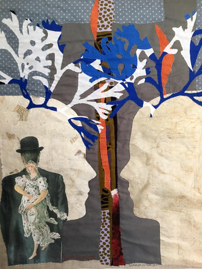 Je pense à Magritte ©Gunilla Luiga