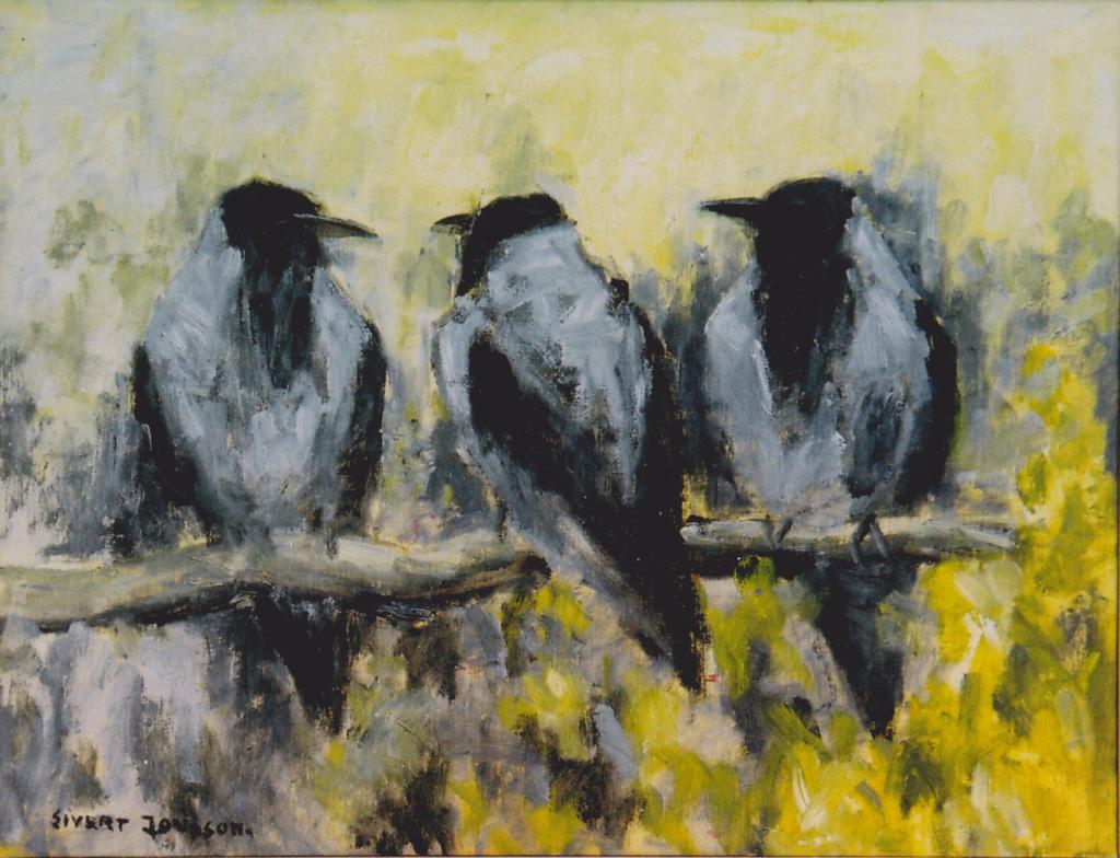 Kråkor ©Sivert Jonsson